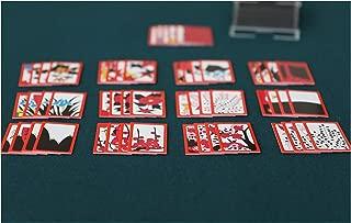 Minittine HwaTu,Hwatoo, Minhwatoo/Go Stop/Godori/SutDa Game Korean Flower Card and mat Set,Playing with Family and Friends