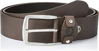 تيمبرلاند حزام كاجوال للرجال , مقاس M , جلد , بني داكن