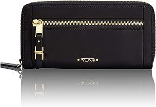 TUMI - Voyageur Zip-Around Continental Wallet - Card Holder for Women - Black