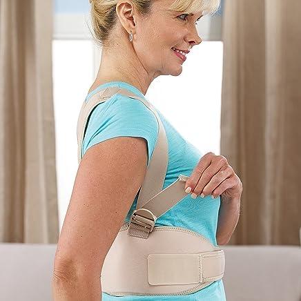 HemizaAdjustable Back Brace for Posture Correction Back Pain Support UnisexBelt For Pain Relief - SM