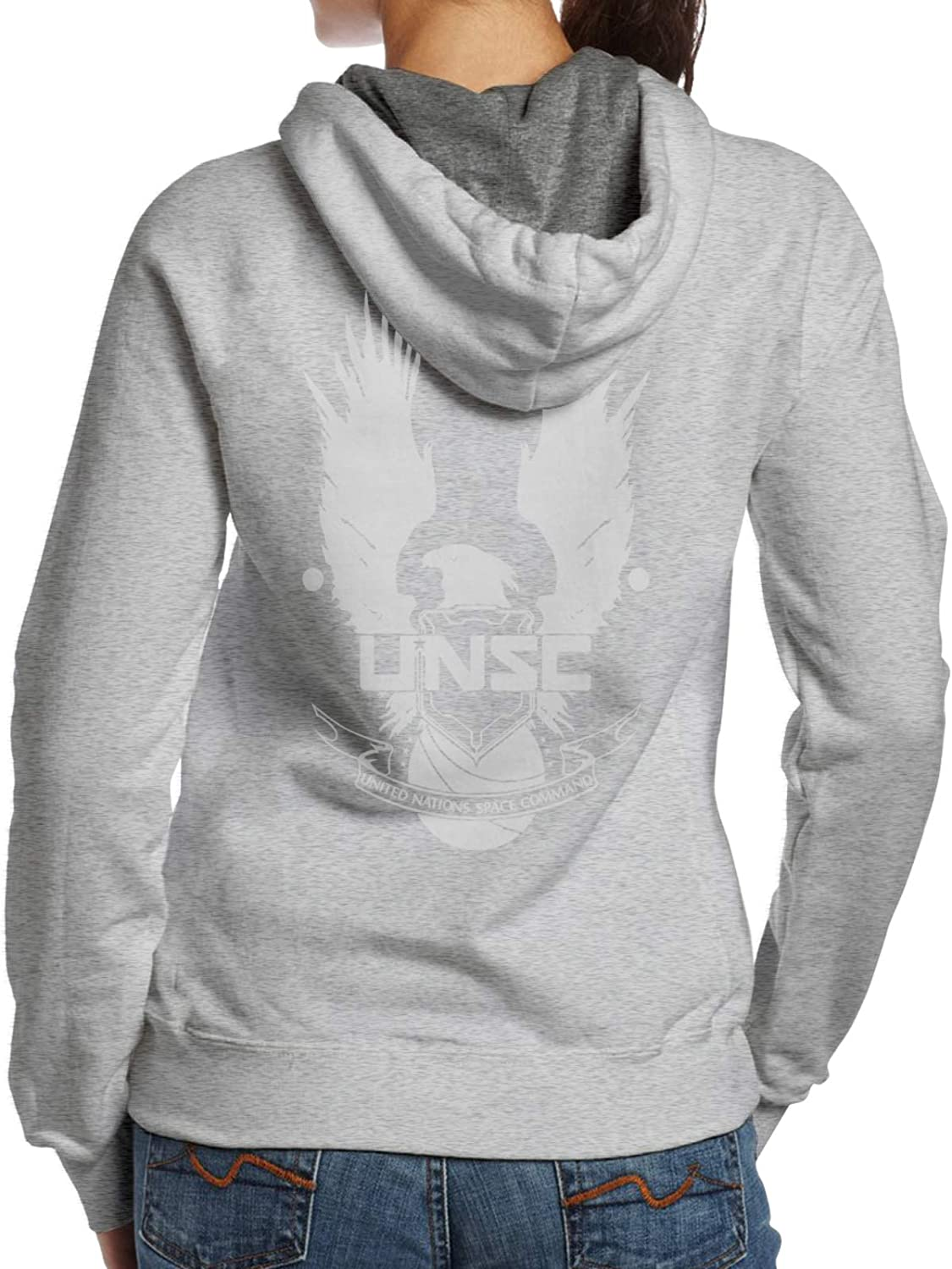 Unsc Logo Womans Hoodie Fashion Casual Special price for a limited Same day shipping time Long Sweater Sleeve