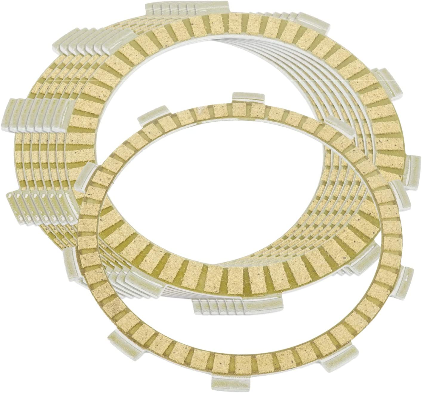 Caltric Clutch Friction Plates Compatible Arlington Mall Seasonal Wrap Introduction With Cb450Sc Honda Nig
