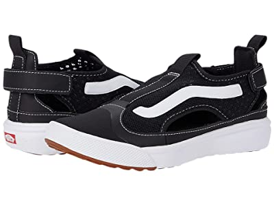 Vans Kids UltraRange Glide (Big Kid) ((Mesh) Black/True White) Kid