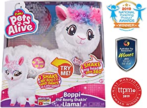 Pets Alive Boppi The Booty Shakin Llama Battery-Powered Dancing Robotic Toy by Zuru
