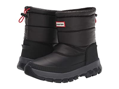 Hunter Original Insulated Snow Boot Short (Black) Women