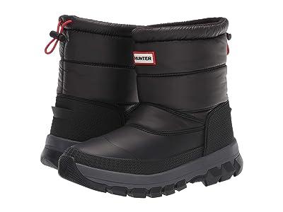 Hunter Original Insulated Snow Boot Short (Black) Women