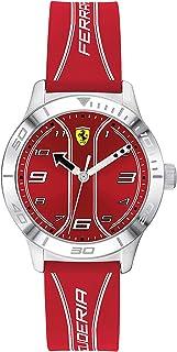 Scuderia Ferrari Reloj Analógico para Niños de Cuarzo con Correa en Silicona 0810023