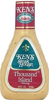 Ken's Foods 1000 Island Sald Dressing, 16 Fl Oz