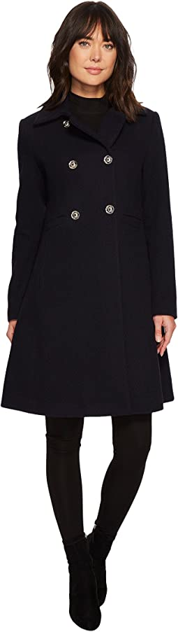 Ivanka Trump - Textured Collar Wool