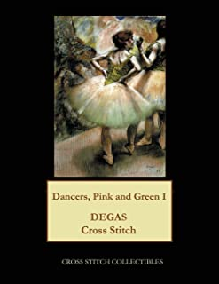 Dancers Pink and Green I: Degas Cross Stitch Pattern