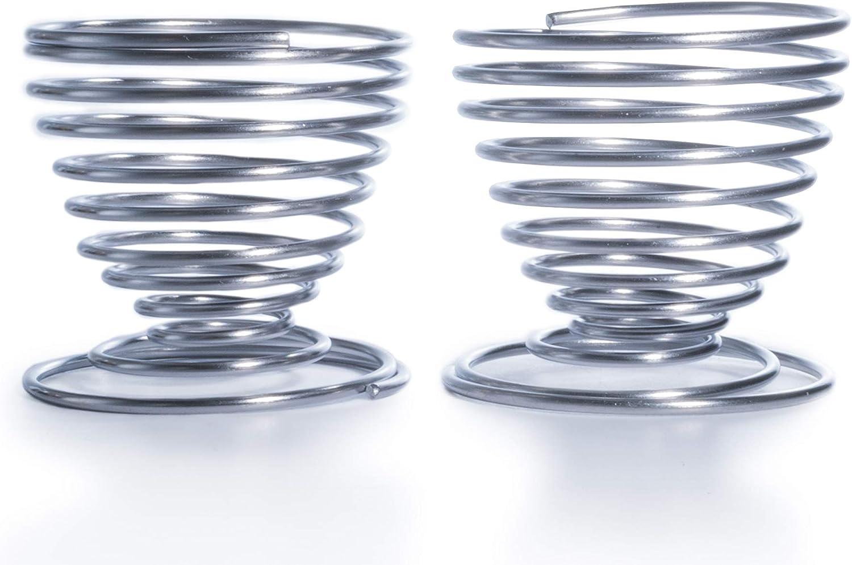 Borispaper Sale item Set of 2Pcs Egg Max 70% OFF cups holder cup - Steel Stainless