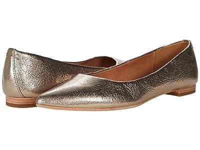 Frye Sienna Ballet (Bronze Vintage Metallic) Women