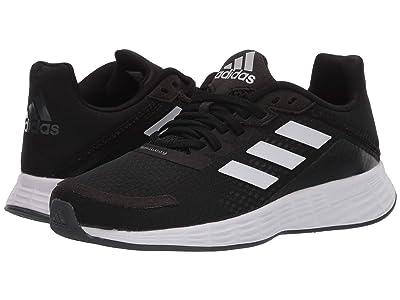 adidas Kids Duramo SL (Little Kid/Big Kid) (Core Black/Footwear White/Grey Six) Boys Shoes