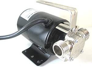 Portable Water Transfer Utility Pump 330 GPH, 115-Volt with Metal Connectors that are Standard 3/4