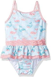 Walsoner Newborn Baby Girls Swimsuit One Piece Bikini Flying Sleeve Pineapple Printed Swimwear Summer Swimsuit 0-18 Months