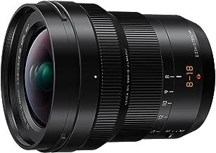 PANASONIC LUMIX Professional 8-18mm Camera Lens, G LEICA DG VARIO-ELMARIT, F2.8-4.0 ASPH, Mirrorless Micro Four Thirds, H-E08018 (Black) (Renewed)