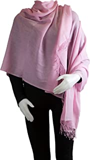 Best baby pink cashmere pashmina Reviews