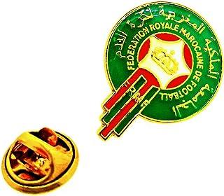 Gemelolandia | Pin de solapa Escudo Selección de Fútbol de Marruecos 25mm | Pines Originales y Baratos Para Regalar | Para...