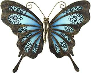 Best large metal butterfly wall decor Reviews