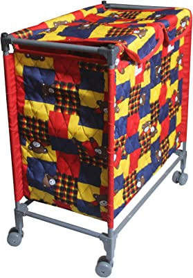 Kuber Industries This and That PVC Laundry Basket, (Model: Portlb03), Multicolour