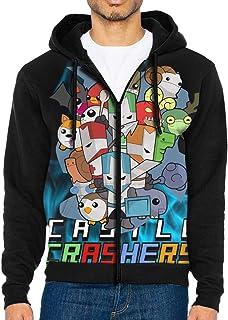 MCLLcomen Super-Dark-Souls Fashion Mens Hoodies Printed Hooded Sweatershirt Pullover Cotton Long Sleeve Sweater