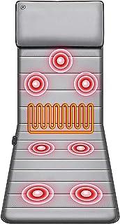 LABYSJ Set de acupresión masajeador eléctrico, Calentador Vibrador, Set de Masaje de acupresión para Silla de Coche en casa, 9 intensidades, 9 Modos, Alivio del Dolor, Unisex