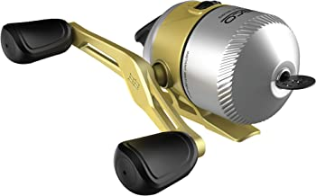 Zebco 33 Gold Spincast Fishing Reel, 3 Ball Bearings (2 + Clutch), Instant Anti-Reverse with a Smooth Dial-Adjustable Drag, Powerful All-Metal Gears with a Lightweight Graphite Frame, New Model