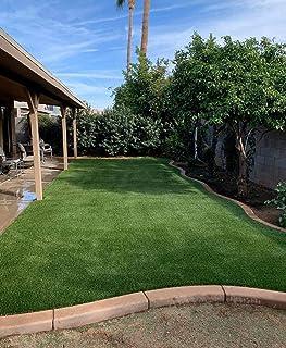 Decorbia High Density Artificial Grass 45mm Thickness(6.5 x 12 Feet), Grass Carpet, Mat for Balcony, Lawnmat, Floor Mat, D...
