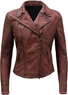 III-Fashions Fast & Furious 8 (Nathalie Emmanuel) Ramsey Brown Biker Genuine Leather Jacket