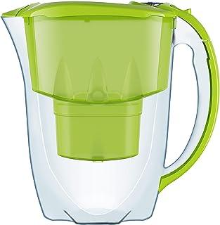 AQUAPHOR Amethyst Carafe filtrante (Pitcher/pichet pour eau portable) avec 1 cartouche d'origine B25 Maxfor (couleur : ver...