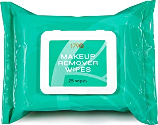 Natural Makeup Remover Facial Cleansing Wipes from 1790 Are the Best Gentle Towelettes For Your Face - Remove Eye Makeup -...