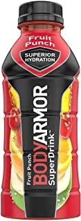 BODYARMOR Sports Drink Sports Beverage, Fruit Punch, Natural Flavors With Vitamins, Potassium-Packed Electrolytes, No Pres...
