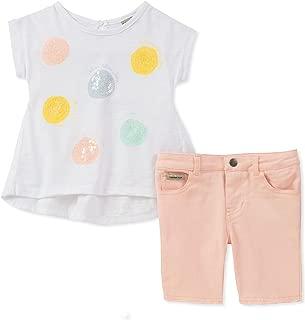 Calvin Klein bebé niñas Bermudas Set