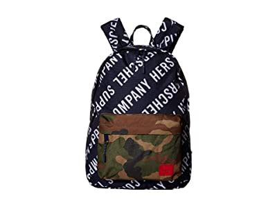 Herschel Supply Co. Classic (Roll Call Peacoat/Woodland Camo) Backpack Bags