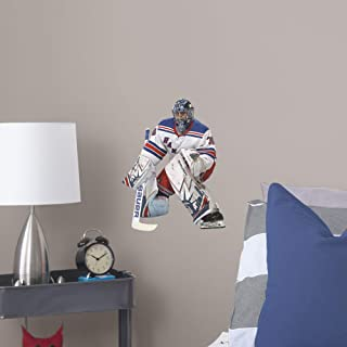 FATHEAD NHL New York Rangers Henrik Lundquist Officially Licensed Henrik Lundquist Removeable Wall Decal