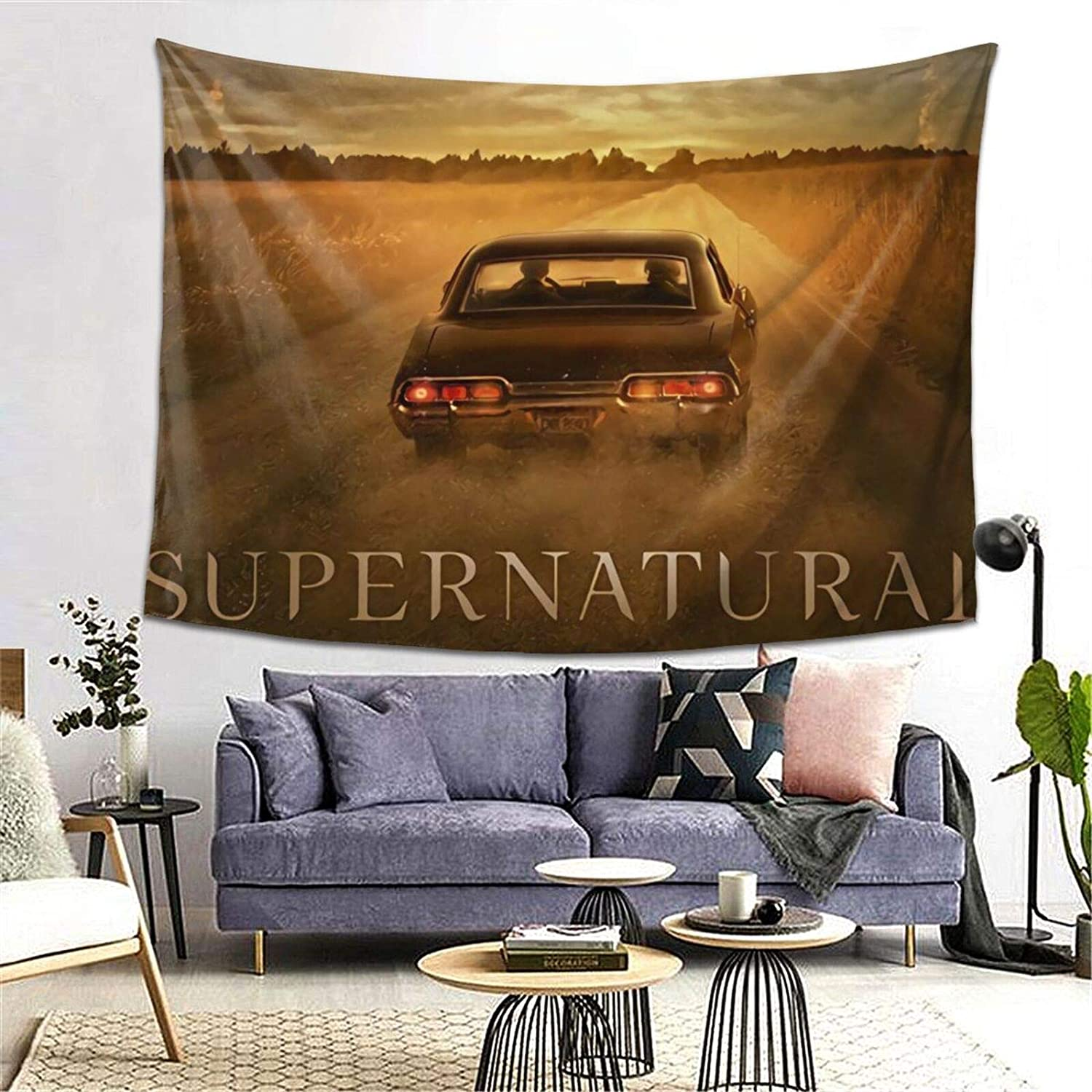 Supernatural Wall Hanging Tapestry Painting For Bedroom Living Room Dorm Studio Room Balcony Home Wall Decor Tapestries For Teen 80*60 Inch