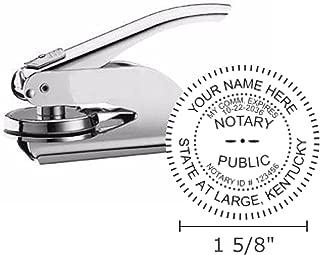 Kentucky Notary Seal Embosser, Pocket/Hand Model, 1-5/8