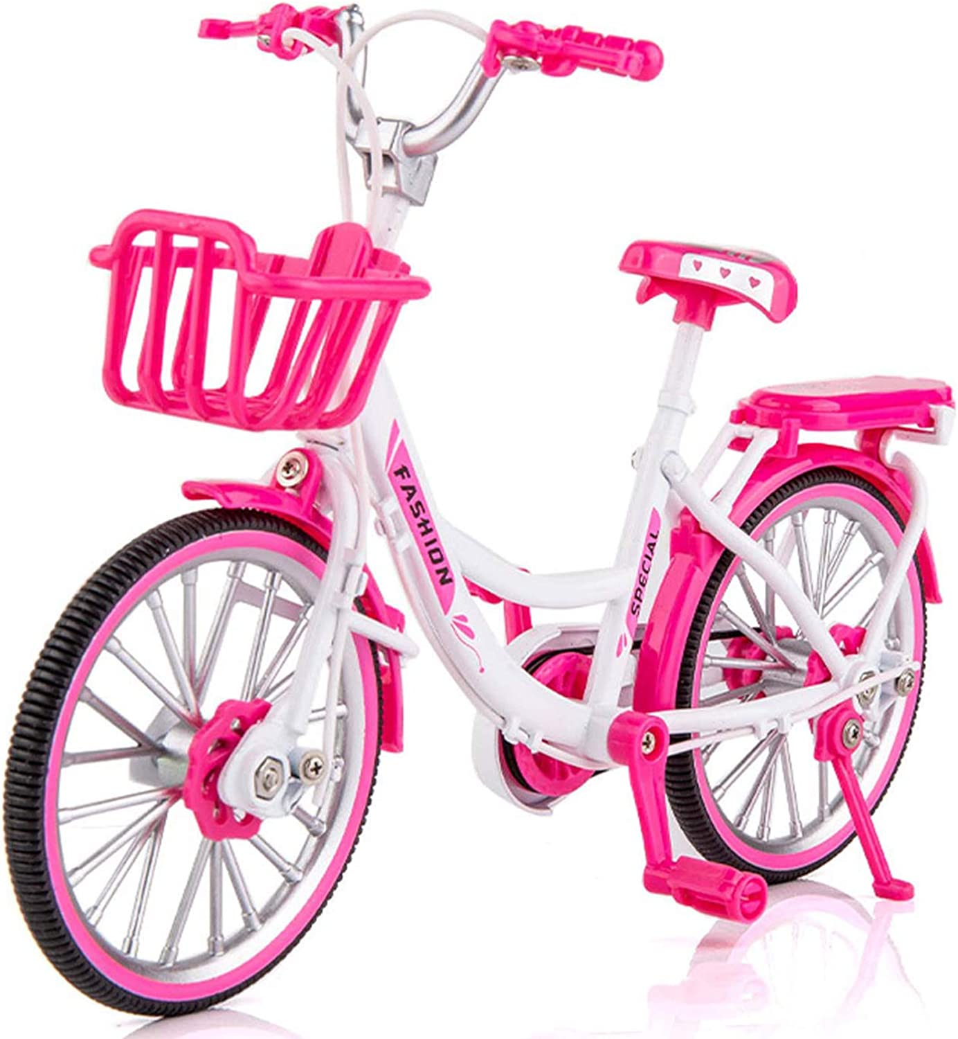 1:10 Simulation Alloy Bicycle Toy Women Limited time cheap sale Very popular Bike Mini Family
