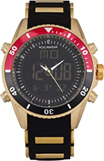 Best rocawear watch black and gold Reviews