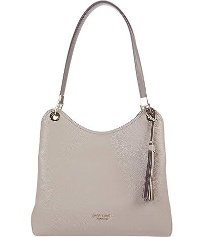Kate Spade New York Loop Large Shoulder Bag (Warm Taupe Multi) Handbags