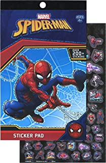 Disney Spiderman 4 Sticker Pad with Over 270 Stickers