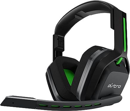 Astro Gaming A20 - Auriculares (con Micrófono Inalámbricos Compatibles con Xbox One, Pc, Mac) Gris/Verde