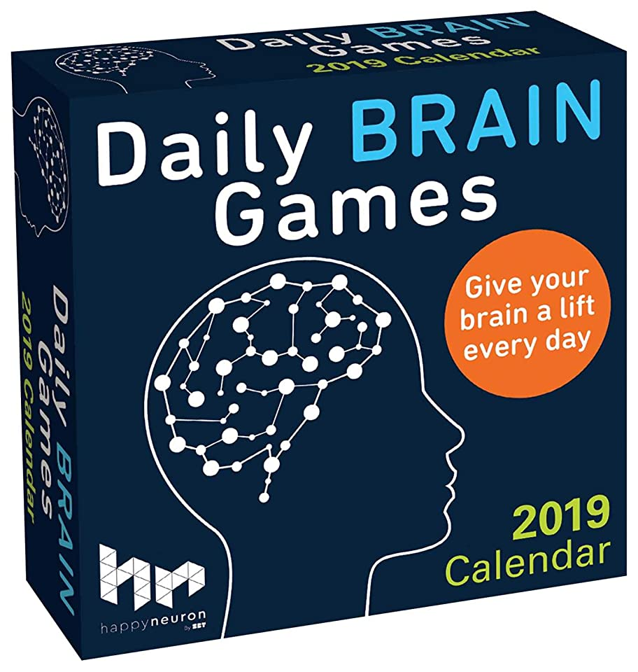 革新レビュアーバイナリDaily Brain Games 2019 Day-to-Day Calendar