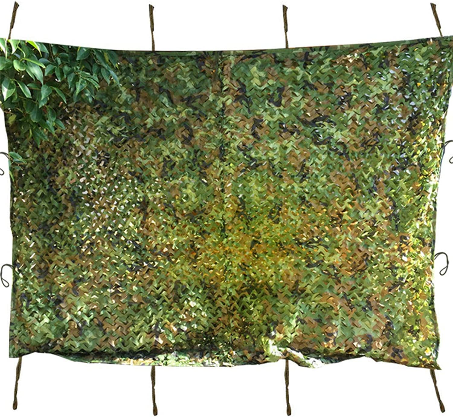 Woodland Camouflage Net Camping Sunscreen Netting Decoration Car Covering,2  3m