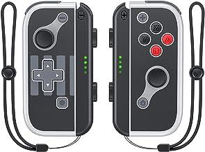 Vivefox Controle Joy Pad para Nintendo Switch, substituição para Switch Joycon com suporte para alça de pulso, suporte par...