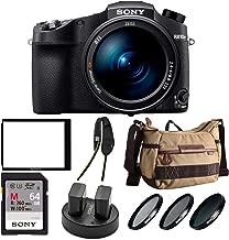 Sony Cyber-Shot RX10 IV with 0.03 Second Auto-Focus & 25x Optical Zoom (DSC-RX10M4) Pro Bundle