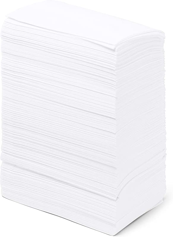Dinner Napkins Paper Bulk 3 Ply 2000 Count 17 X 17 White Disposable Embossed Pattern Commercial Or Business Use Restaurants Bars Corporate Catered Events Party Paterson Paper