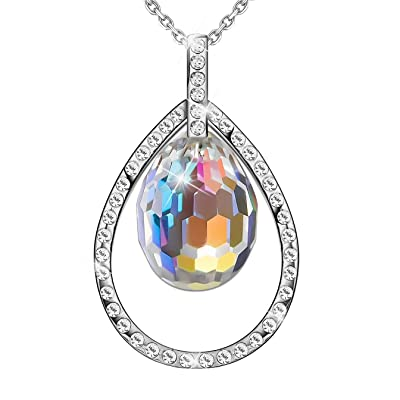 SIVERY Seed of Love Fashion Necklace with Color...