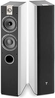 Focal Chorus 716 2 1/2-Way Bass Reflex Floorstanding Speaker - Pair (White Piano Lacquer)