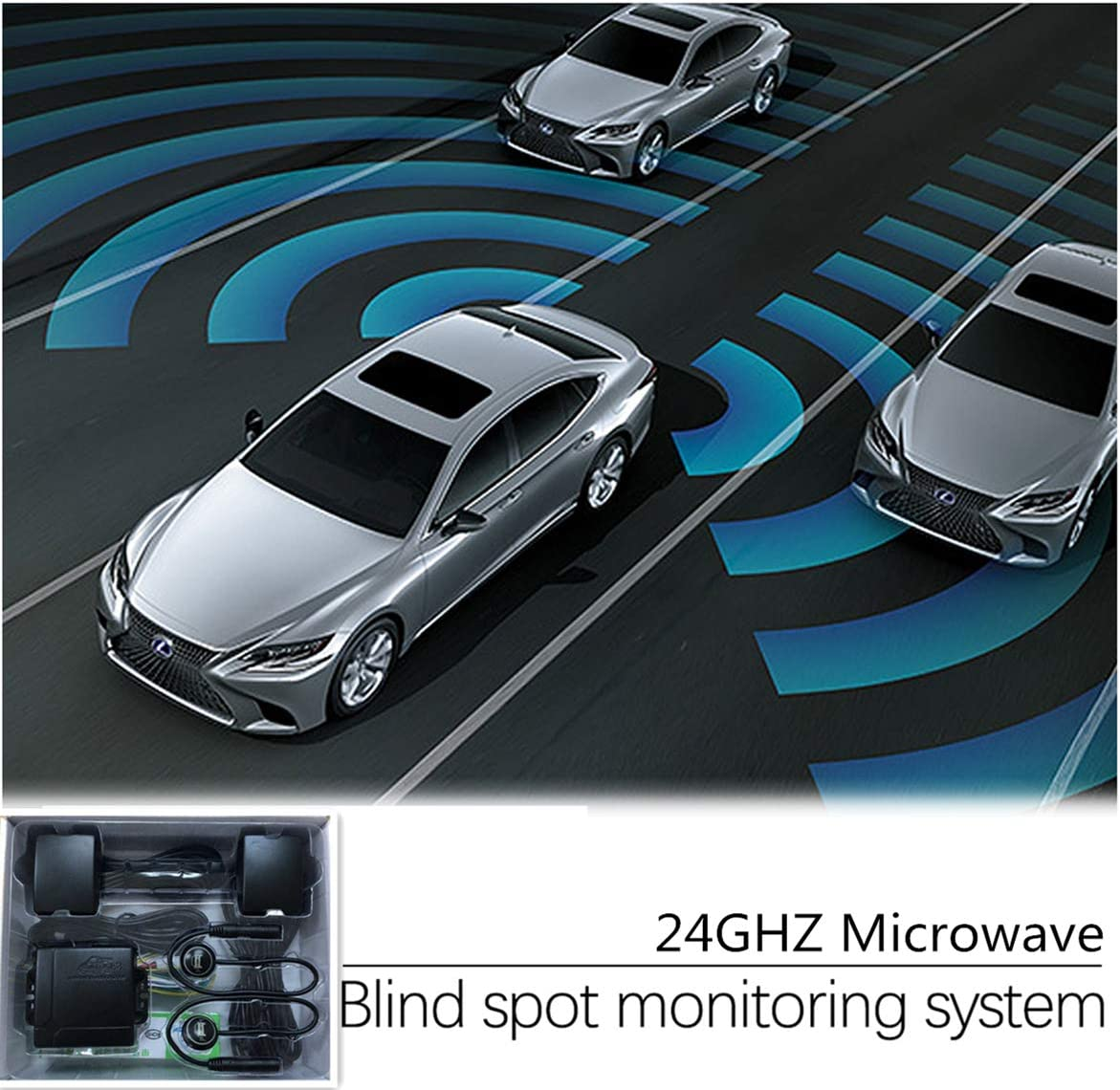 CarBest Radar Based Blind Spot Sensor Rear and mart Louisville-Jefferson County Mall Traffic Cross Ale